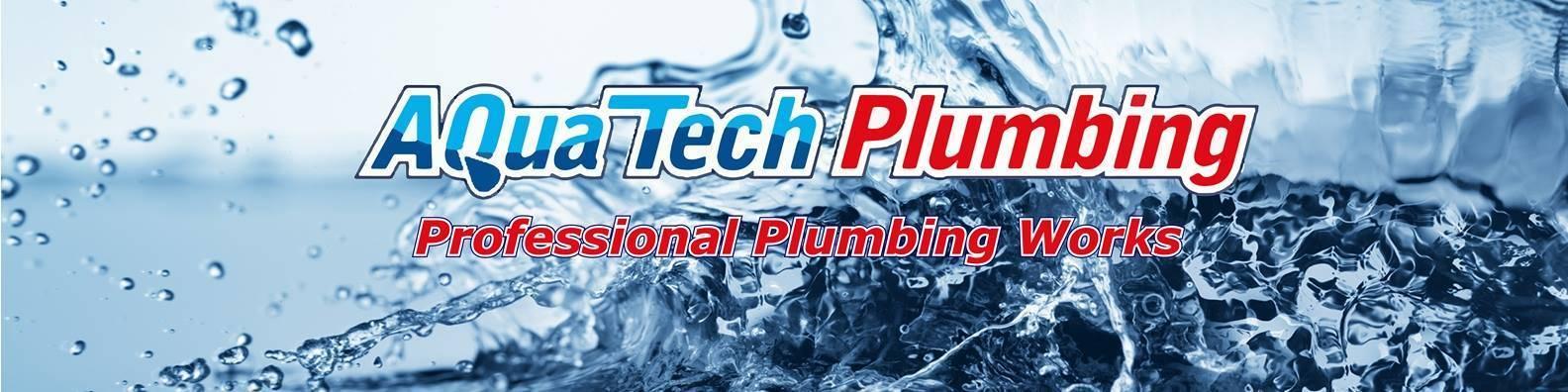 aquatech plumbing banner